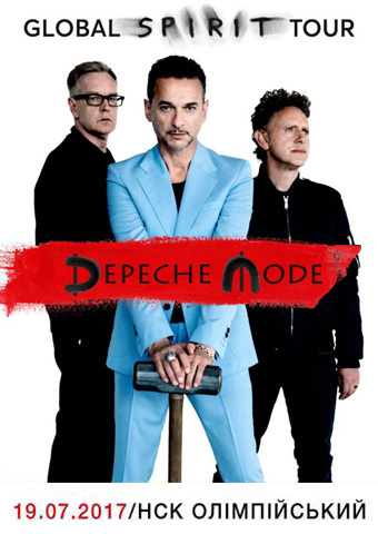 Depeche Mode. Global Spirit Tour