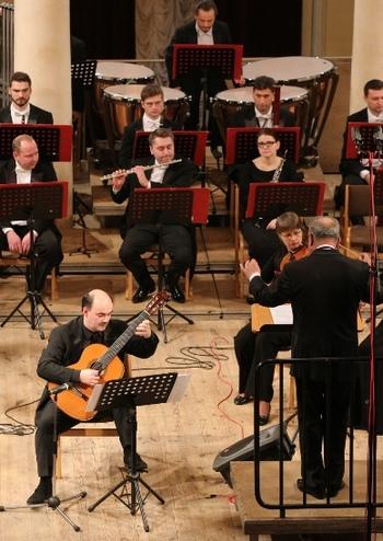 Андрій Остапенко (гітара) - Симфонічний оркестр НФУ