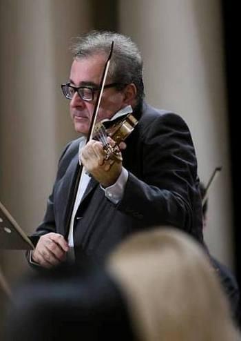 Федеріко Гульєльмо (скрипка, диригент) Італія, Київський камерний оркестр