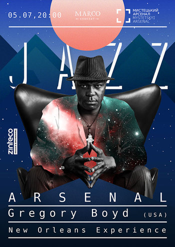 Jazz Arsenal - Gregory Boyd (USA)