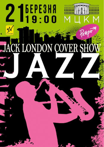Jack London cover show JAZZ