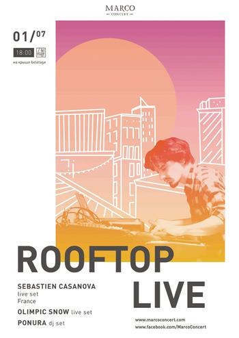 Rooftop live - Sebastien Casanova