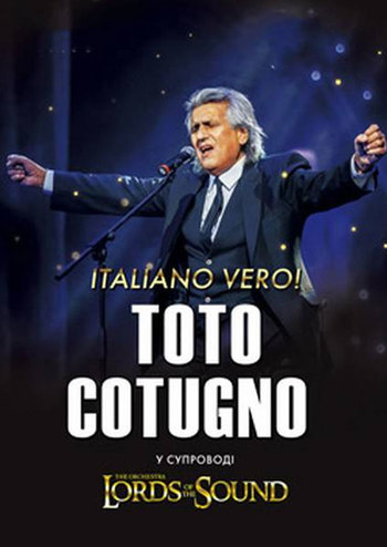 Toto Cotugno & Lords of the Sound. Italiano vero