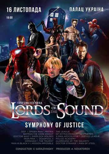 Lords of the Sound. Symphony of Justice