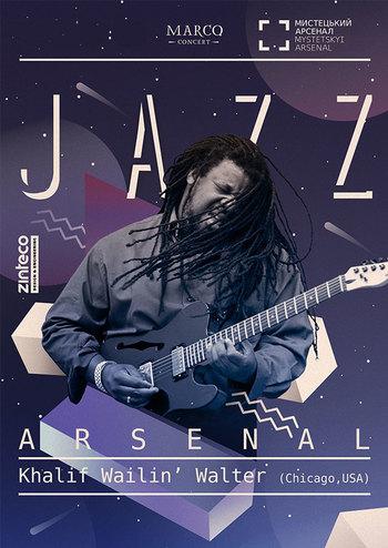 Jazz Arsenal - Khalif Wailin Walter