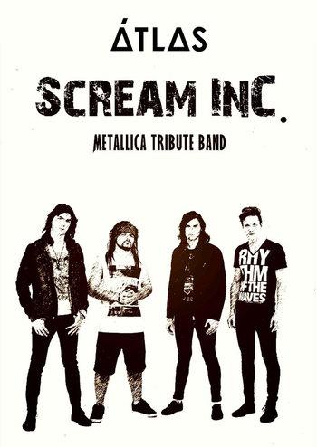 Scream inc. — «Metallica tribute show»